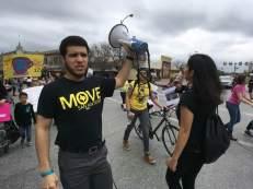 International Women's Day March, San Antonio, Texas.