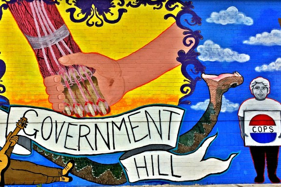 Government Hill mural