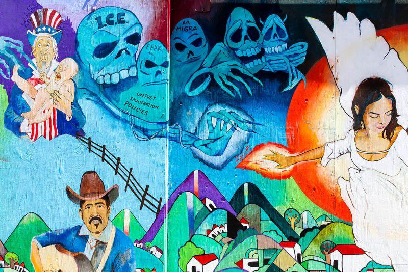 Mural at At San Francisco's Balmy Alley