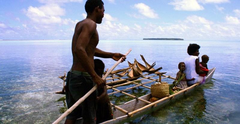 Carterets Islander family