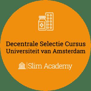 Decentrale Selectie Geneeskunde cursus UvA Universiteit Van Amsterdam