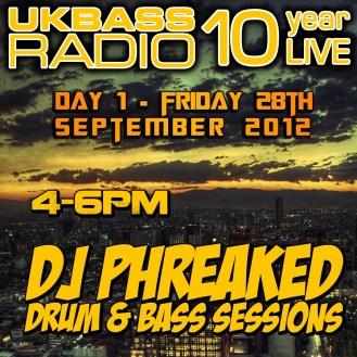 UK Bass Radio 10th Anniversary Weekend 1