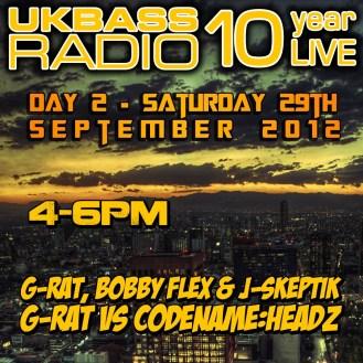 UK Bass Radio 10th Anniversary Weekend 14