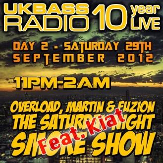 UK Bass Radio 10th Anniversary Weekend 19