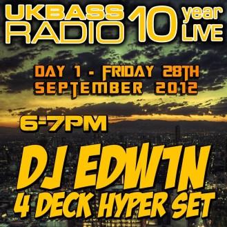 UK Bass Radio 10th Anniversary Weekend 2