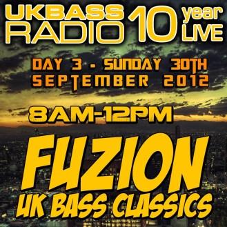 UK Bass Radio 10th Anniversary Weekend 21