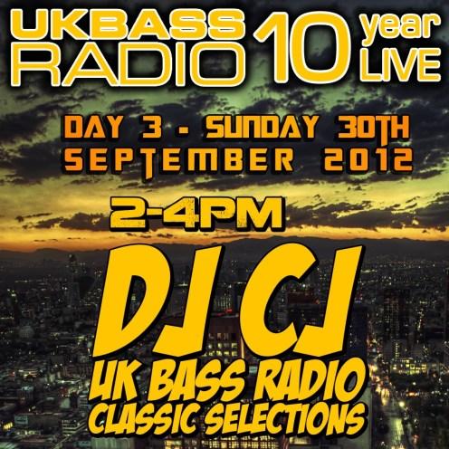 UK Bass Radio 10th Anniversary Weekend 23