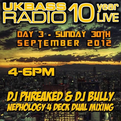 UK Bass Radio 10th Anniversary Weekend 24