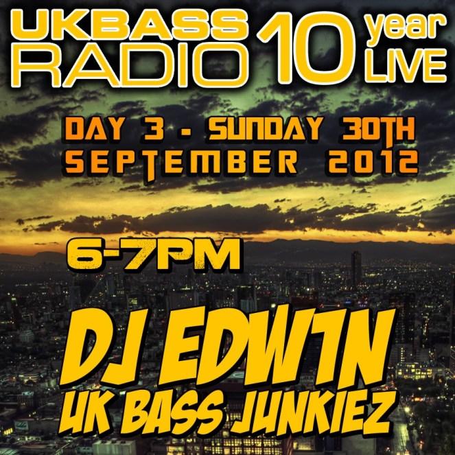 UK Bass Radio 10th Anniversary Weekend 25