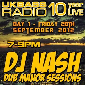 UK Bass Radio 10th Anniversary Weekend 3