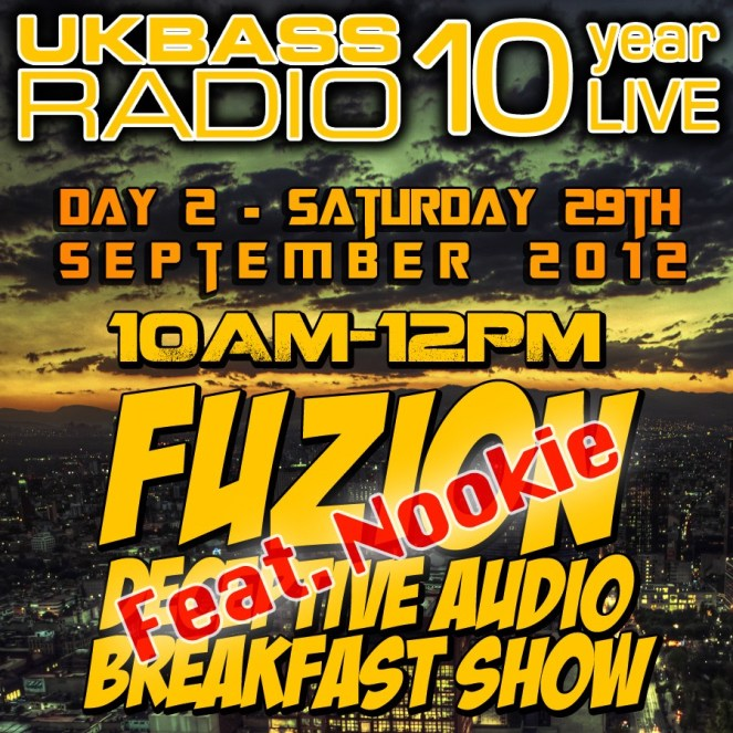 UK Bass Radio 10th Anniversary Weekend 9