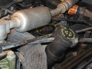 Vacuum Line From Intake Manifold To PCV Valve  '99 Tahoe