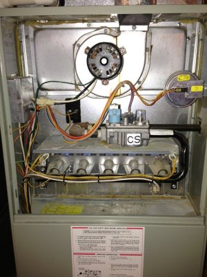 Gas Furnace Lights Stays Lit 12 Minutes, Clicks, Then Flame Dies | DIY Forums