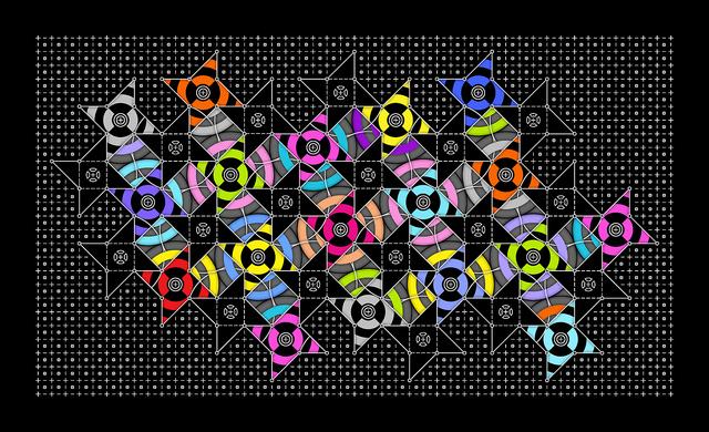"Andrew Reach, Unfree Radicals (2013), Epson GS Ultrachrome Print on Canvas, 46"" × 77 """