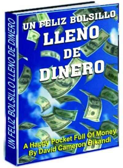 Bolsillos con dinero, felicidad en el bolsillo de dinero