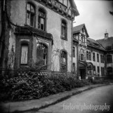 A Holga shot of the Administrator's building. Camera: Holga 120N Film: Kodak Tri-X