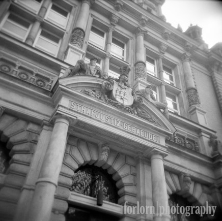 Built in 1879-1882, this is a war survivor. Camera: Holga 120N Film: Kodak Tri-X film