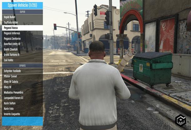 GTA 5 PC Mod Menu
