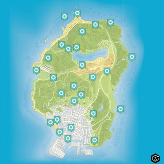 GTA 5 Peyote Location