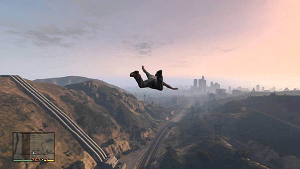 Skyfall cheat GTA 5