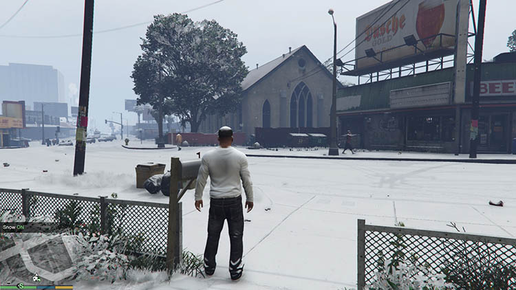 GTA 5 Snow Cheat