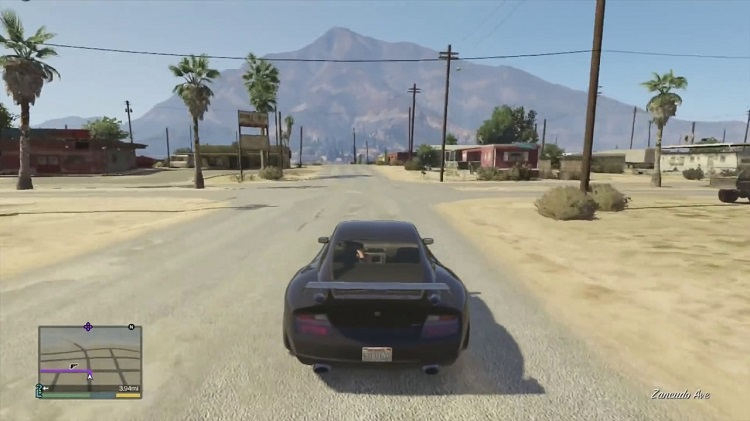 Comet Cheat GTA 5