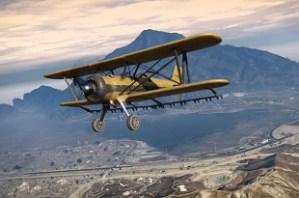 GTA 5 aeroplane