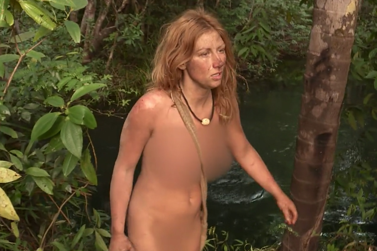 Naked girls not staged Naked And Afraid Xl 5 Years Later And Honora S Meltdown Is A Show Defining Event Decider