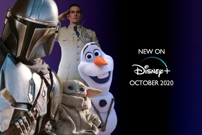 New On Disney Plus October 2020