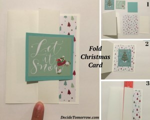 Simple DIY Christmas Cards you can make under an hour and minimal supplies! Check out the rest on the blog