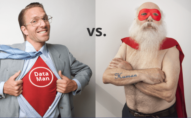 data man vs human