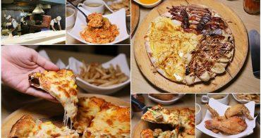 【台南美食】手工窯烤披薩義大利麵炸雞吃到飽!選擇多元的平價聚餐店家:Double Cheese台南成大店