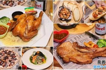 【台南美食】台南聚餐美食!窯烤披薩必吃,適合多人聚餐:喬義思窯烤手作廚房