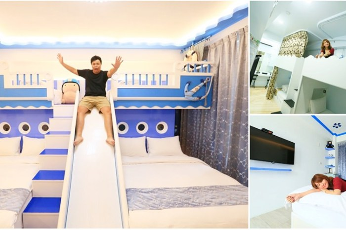 【台南住宿】民宿就是遊樂園!充滿童趣的住宿空間:台南樂遊親子民宿