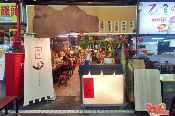 【台南美食】百元就能吃到的日式定食,小北觀光夜市內的人氣美味:昌津柴魚