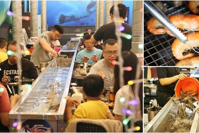 【台南美食】泰國蝦吃到飽,還有生啤酒無限暢飲!以及超多款海鮮熱炒任你吃:台南水道蝦