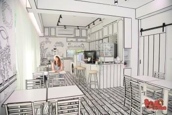 【恆春咖啡店】從漫畫裡走出來的咖啡店,一秒變身為漫畫中的女主角:禾咖啡2D咖啡館