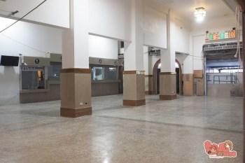 【台南資訊】台南火車站古蹟修復工程,復古大廳天花板美美亮相~
