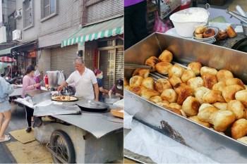 【台南美食】永康大灣半煎炸的美味水煎包,為了這味~我甘願早起排隊:大灣廣護宮前煎包