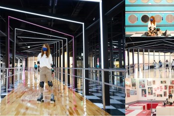 【台南景點】大魯閣Roller186滑輪場!台南最好玩的溜冰新去處,主題式網美打卡區超好拍~