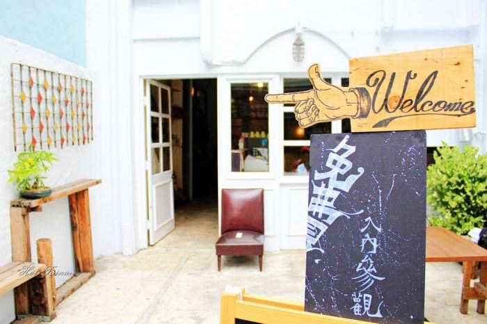 【台南中西區】老教堂變身!!!文青必至的展場咖啡廳:泡卡芙