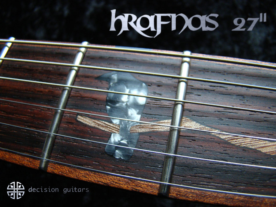 hrafnas Inlay 3rd fret