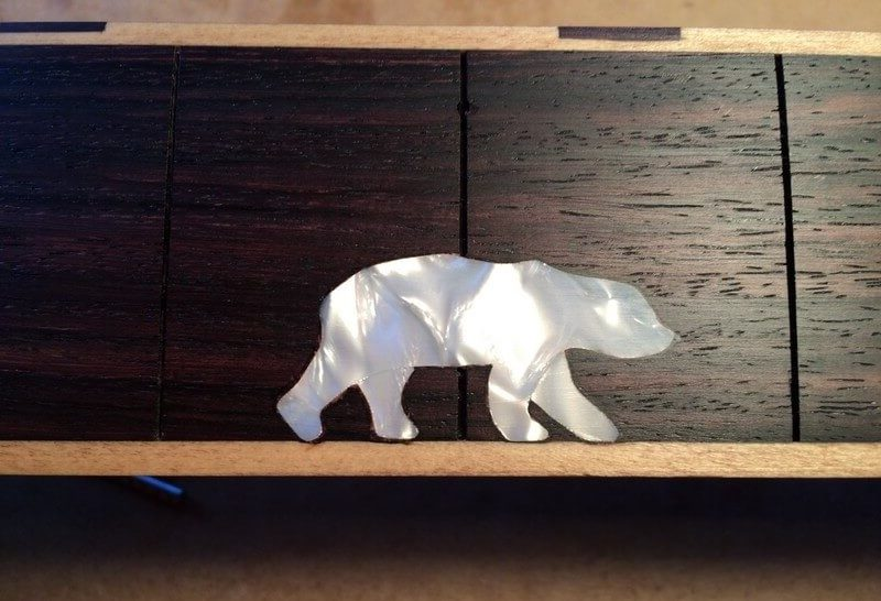 Inlay icebear Neck