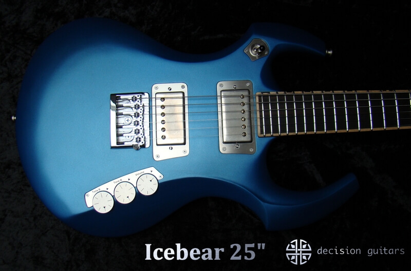 "icebear blue 25"" body"