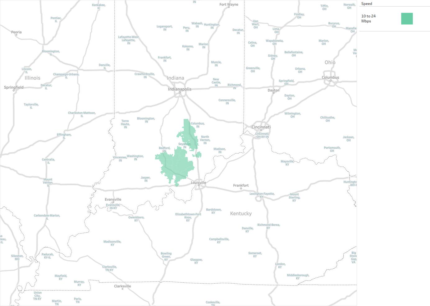 Blueriver Networking Services Availability Areas Amp Coverage Map
