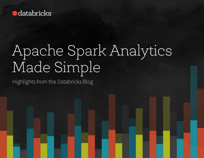 Apache Spark Analytics Made Simple-e-book cover