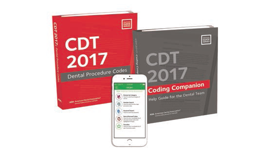 2017 Cdt Code Books Available Decisions In Dentistry