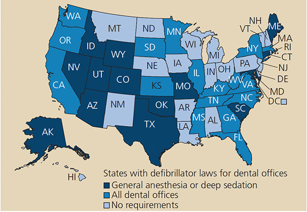 AED laws state-by-stae