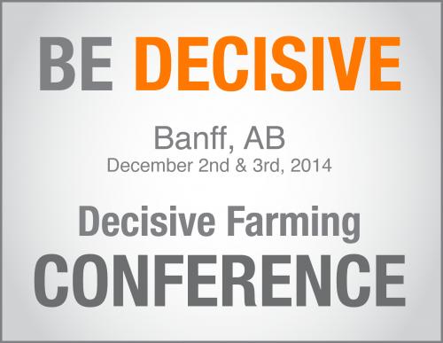 2014 Decisive Farming Conference