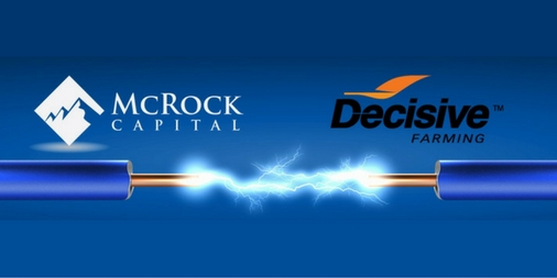 McRock Leads $6 Million Investment in Decisive Farming
